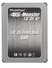 PhotoFast SSD 1.8 ZIF 64GB MLC Read85MB Write50MB BOXパッケージ 1年保証 PF18Z64GSSDZIFV2
