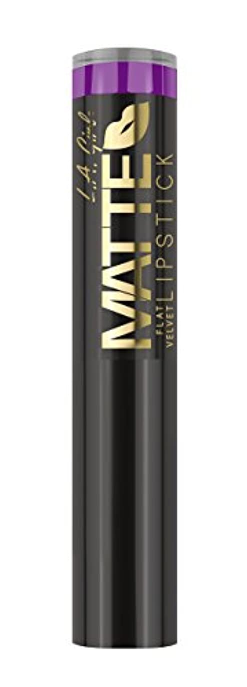 L.A. GIRL Matte Flat Velvet Lipstick - Love Triangle (並行輸入品)