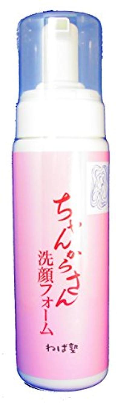 敷居にじみ出る蒸ちゃんからさん 洗顔フォーム (200ml)