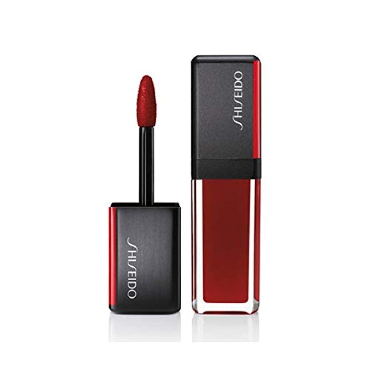 脅かす王女仲良し資生堂 LacquerInk LipShine - # 307 Scarlet Glare (Scarlet) 6ml/0.2oz並行輸入品
