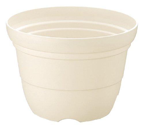 リッチェル カラーバリエ 輪鉢7号 ホワイト(W)