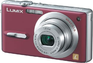 Panasonic DMC-FX9-R LUMIX コンフォートレッド