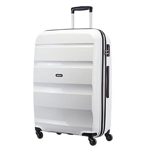 [アメリカンツーリスター] AmericanTourister スーツケース BON AIR ボンエアー スピナー75 91L 4.1kg 無料預入受託サイズ 保証付 85A*05003 05 (ホワイト)
