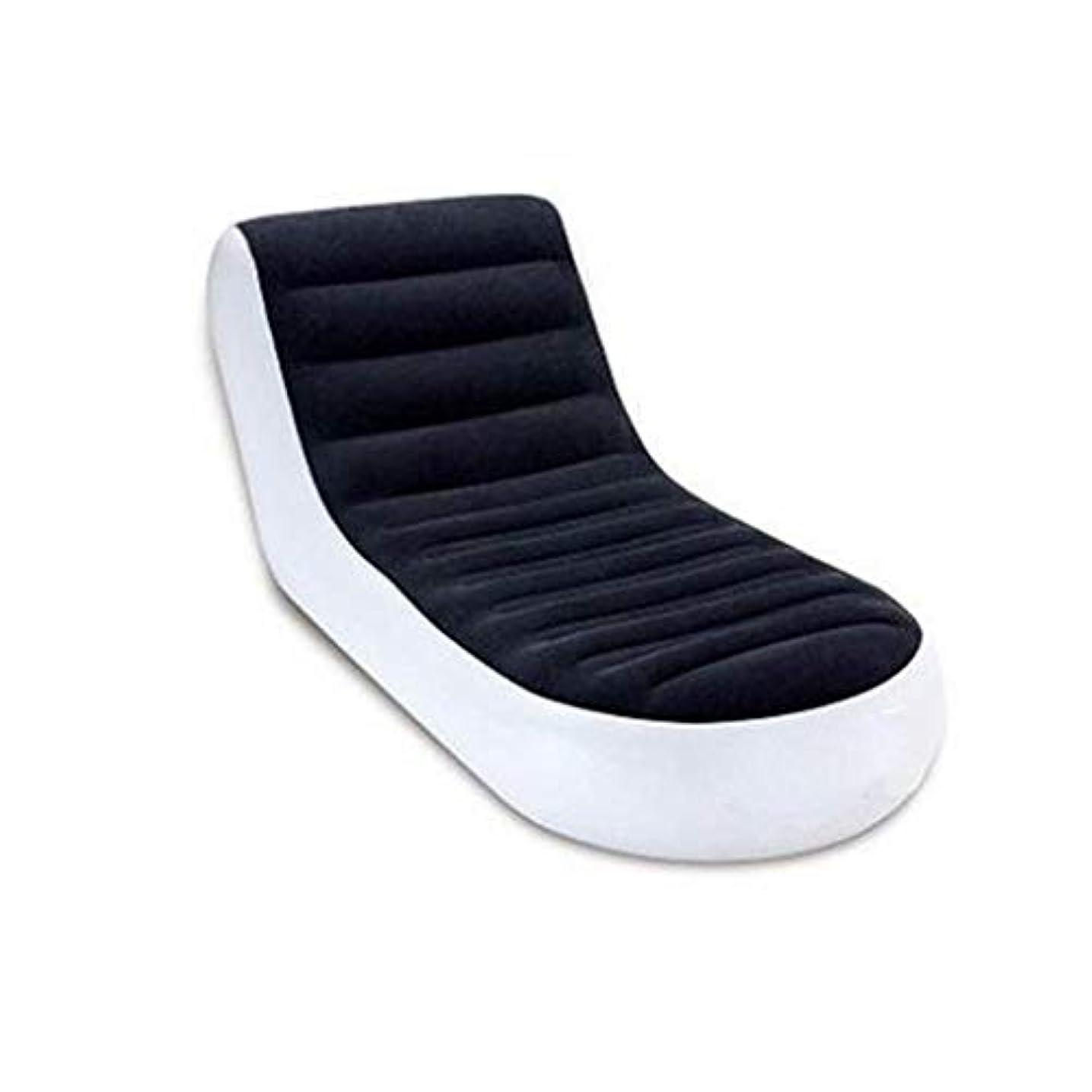 隠された吸収する怒ってNuoEn 膨脹可能なリクライニングチェアの空気ソファー、携帯用防水膨脹可能なソファーの極度の耐久の膨脹可能なベッド - 旅行、ハイキング、浜および中庭