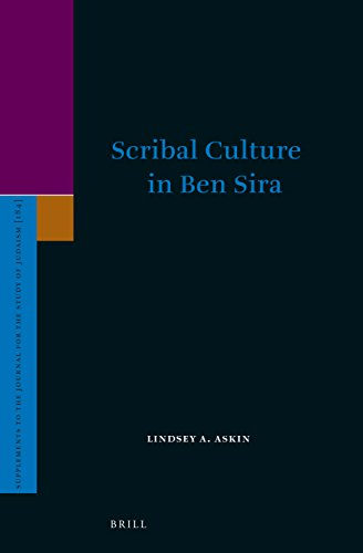 Scribal Culture in Ben Sira (S...