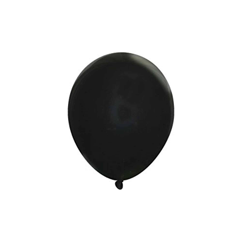 Creative Balloons 13cm Latex Balloons - Pack of 144 Piece - Decorator Midnight Black