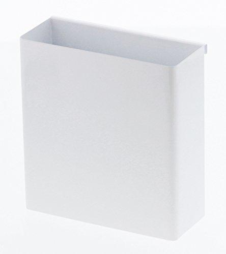 山崎実業 コンロ横ラック キッチンツールホルダー 自立式メッシュパネル用 ツールホルダー タワー ホワイト 4193