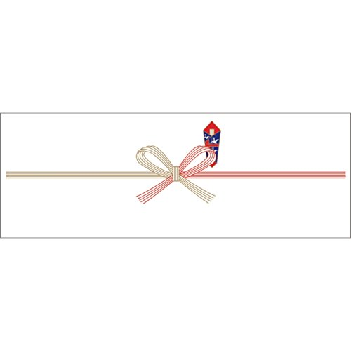 OA対応のし紙 熨斗紙 豆判4号 祝 京 2-14 1セット 1000枚:100枚×10冊