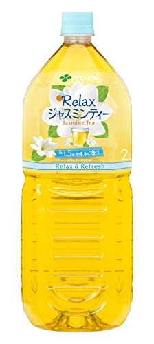 【Amazon.co.jp 限定】伊藤園 Relax ジャスミンティー 2L×10本 デュアルオープンボックスタイプ