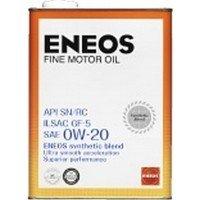 エネオス ファイン 0W-20 SN/RC/GF-5 部分合成油 20L