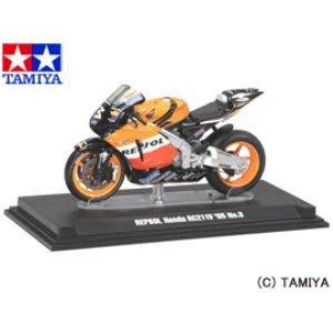 1/24 コレクターズクラブモーターサイクルモデルズ レプソル Honda RC211V '05 No.3