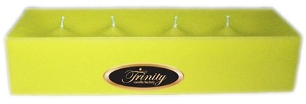 スチュアート島習慣代名詞Trinity Candle工場 – レモングラス – Pillar Candle – 12 x 4 x 2 – ログ