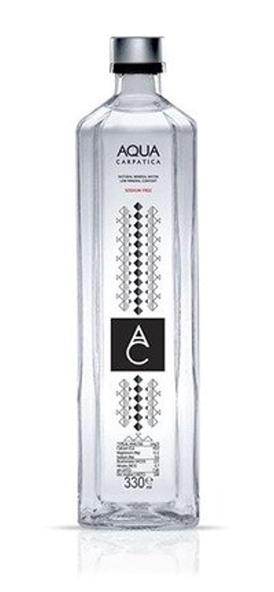 表示専門用語切るAQUA CARPATICA アクアカルパチカ ナチュラルミネラルウォーター 750ml×6本