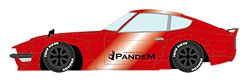メイクアップ EIDOLON 1/43 PANDEM 240Z キャンディレッド/RSワタナベ グロスブラック 完成品の詳細を見る