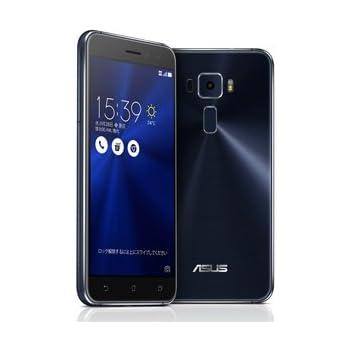 エイスース SIMフリースマートフォン ZenFone 3(Qualcomm Snapdragon 625/メモリ 3GB)32GB サファイアブラック ZE520KL-BK32S3