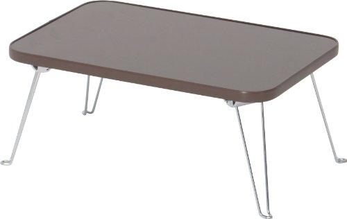 不二貿易 カラーミニ テーブル ブラウン CCB4530-BR 88433