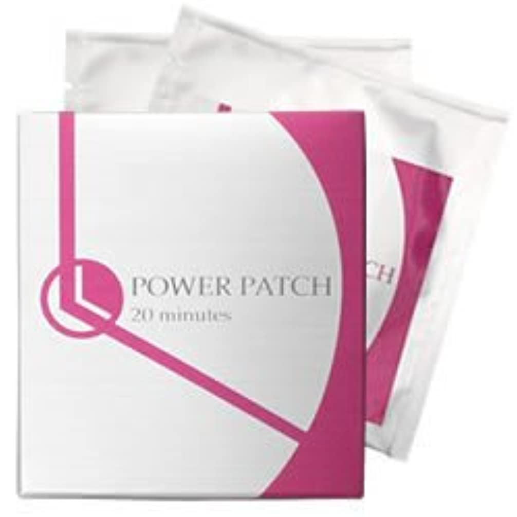 パワーパッチ20minutes 6袋入り(1袋に左右用各1枚ずつ入り) 目元専用貼る美顔器