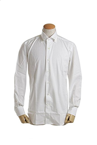 ORIAN VINTAGE オリアン ボタンダウンカラー コットン シャツ ホワイト J353S IT 02U298 10