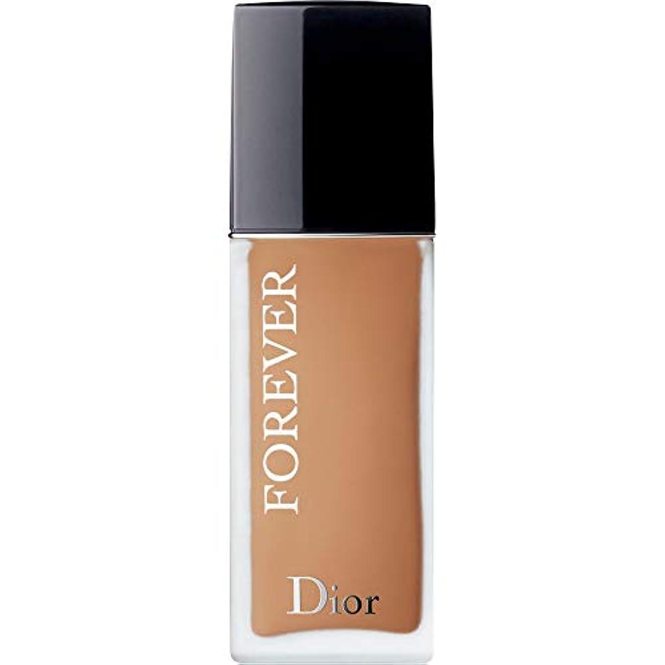 ヤギ特別な紫の[Dior ] ディオール永遠皮膚思いやりの基盤Spf35 30ミリリットルの4.5ワット - 暖かい(つや消し) - DIOR Forever Skin-Caring Foundation SPF35 30ml 4.5W...