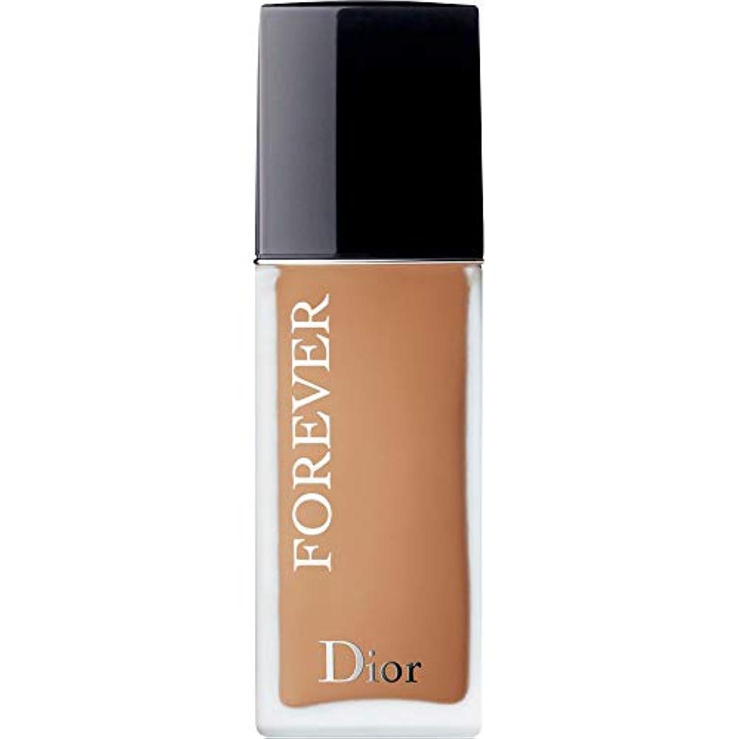 スイング休日に真鍮[Dior ] ディオール永遠皮膚思いやりの基盤Spf35 30ミリリットルの4.5ワット - 暖かい(つや消し) - DIOR Forever Skin-Caring Foundation SPF35 30ml 4.5W...