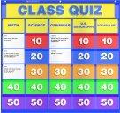 Harper Collins Publishers Class Quiz Pocket Chart
