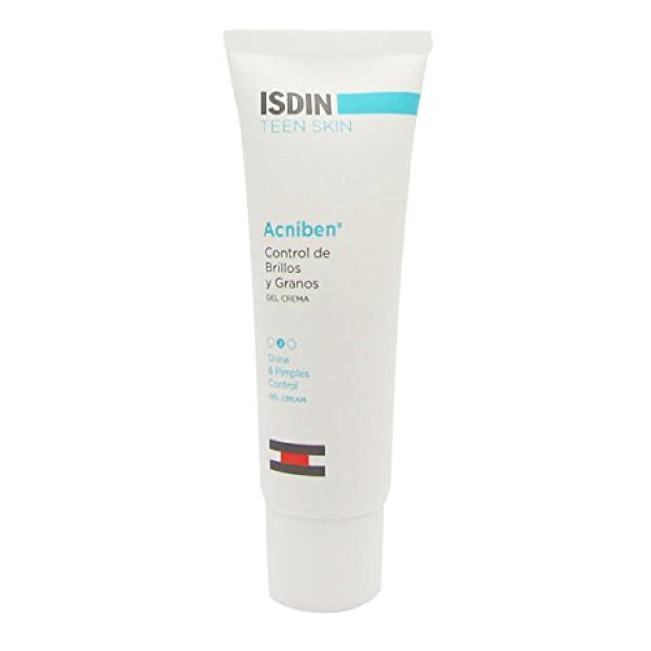 賞賛キャプション消化器Isdin Acniben Teen Shine And Pimples Control Gel 40ml [並行輸入品]