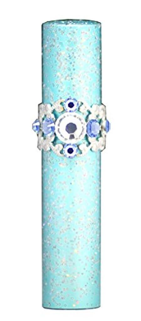 耐えられない矩形スマートヒロセアトマイザー ラメティアラ アルミアトマイザー 32196 BL (ラメティアラAT ブルー) スワロフスキー7石付
