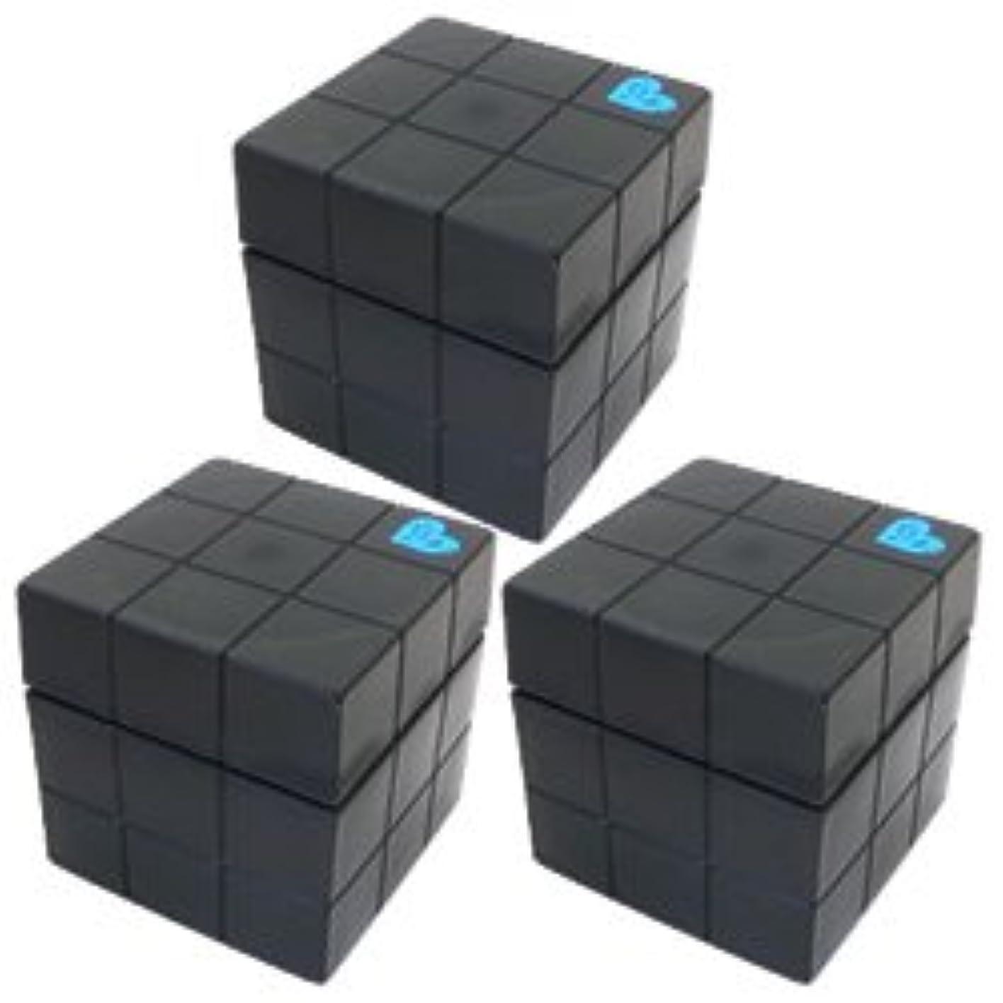 インフルエンザ信頼性フィードオンアリミノ ピース フリーズキープワックス80g(ブラック)3個セット