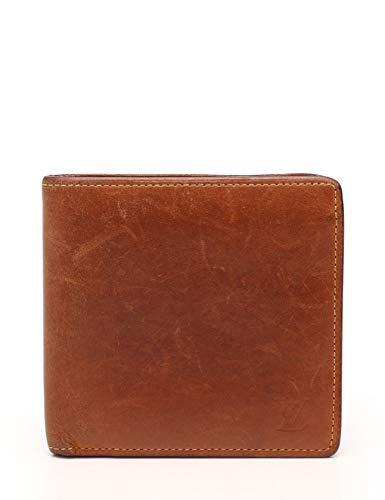 (ルイ・ヴィトン) LOUIS VUITTON ポルトフォイユ マルコ ノマド 二つ折り財布 レザー キャラメル M85017 中古
