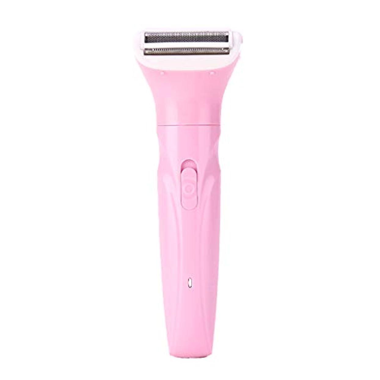 床八百屋知的Baoyouls 電気女性女性シェーバー女性脱毛器体毛除去かみそりトリマー