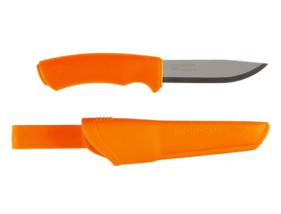 保安きらめく呼ぶMorakniv Bushcraftナイフ、オレンジ