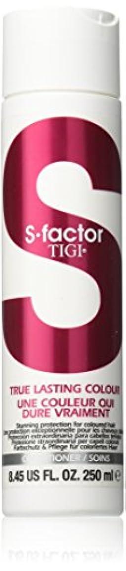 ウサギスケルトン住所ティジー S Factor True Lasting Colour Conditioner (For Coloured Hair) 250ml