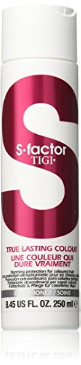 無謀中庭戦争ティジー S Factor True Lasting Colour Conditioner (For Coloured Hair) 250ml