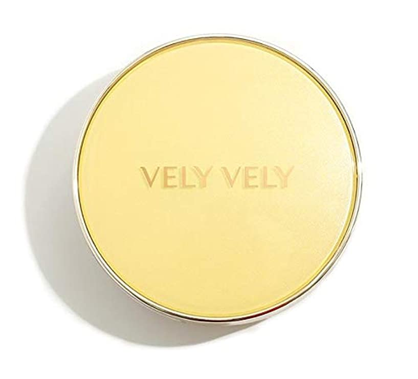堤防カップル染料VELY VELY Aura Honey Glow Cushion/ブリーブリーアウラハニーグロークッション[単品 15g+リフィル15g] (21号 ライト[本品+リフィル]) [並行輸入品]