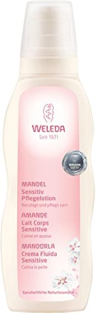 不測の事態貫通するパケットWELEDA(ヴェレダ) アーモンド ボディミルク 200ml