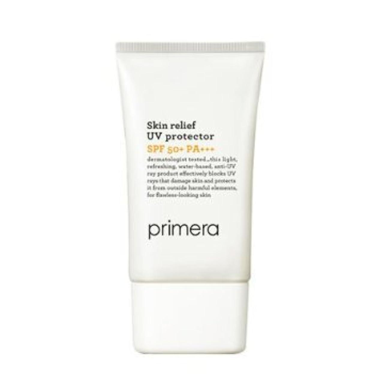 可塑性周波数石油Korean Cosmetics, Amorepacific Primera Skin Relief UV Protector SPF50+ PA+++ 50ml[行輸入品]