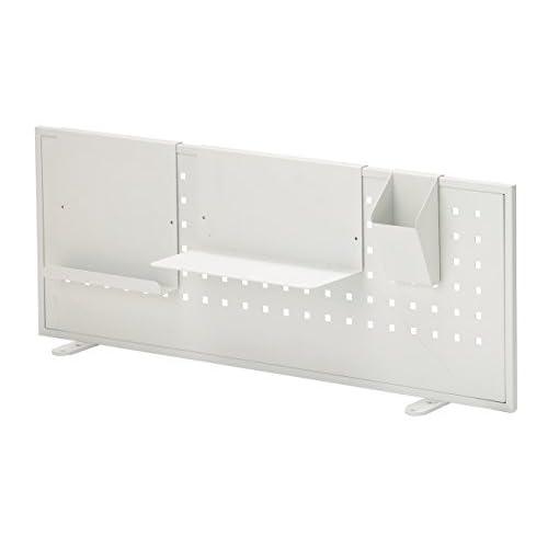 あずま工芸 アルガノデスク用バックパネル  85cm幅 ホワイト色 BP-851