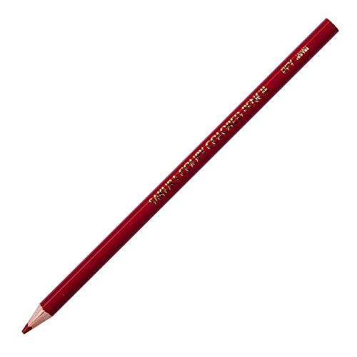 クーピー色鉛筆 PFYバラ10P#13 赤茶 10本
