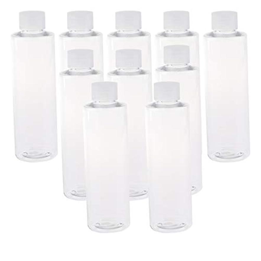 関係するシード縞模様の全3色 200ミリリットル PETボトル 空のボトル プラスチックボトル 詰替え容器 - クリアキャップ