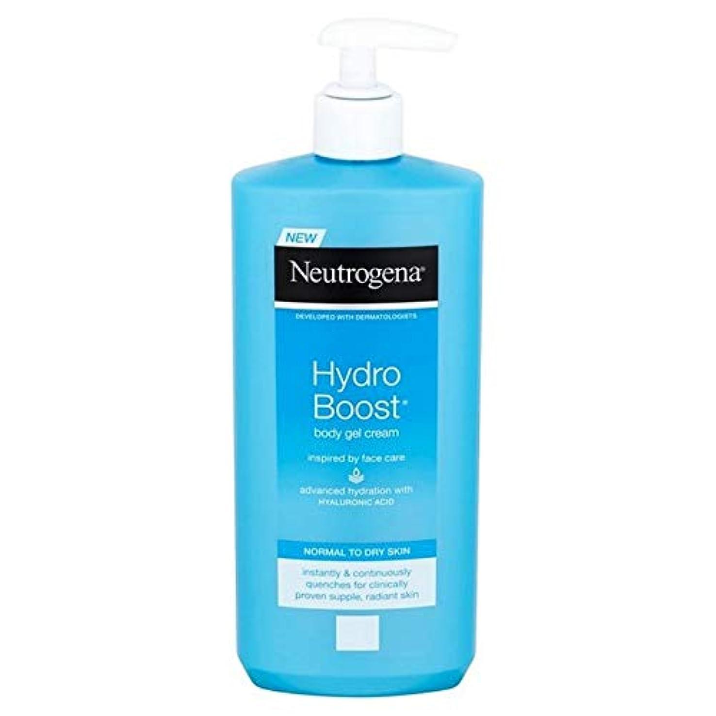 裁定周り取り扱い[Neutrogena ] ニュートロジーナ水力発電は、ボディジェルクリーム400ミリリットルを後押し - Neutrogena Hydro Boost Body Gel Cream 400ml [並行輸入品]