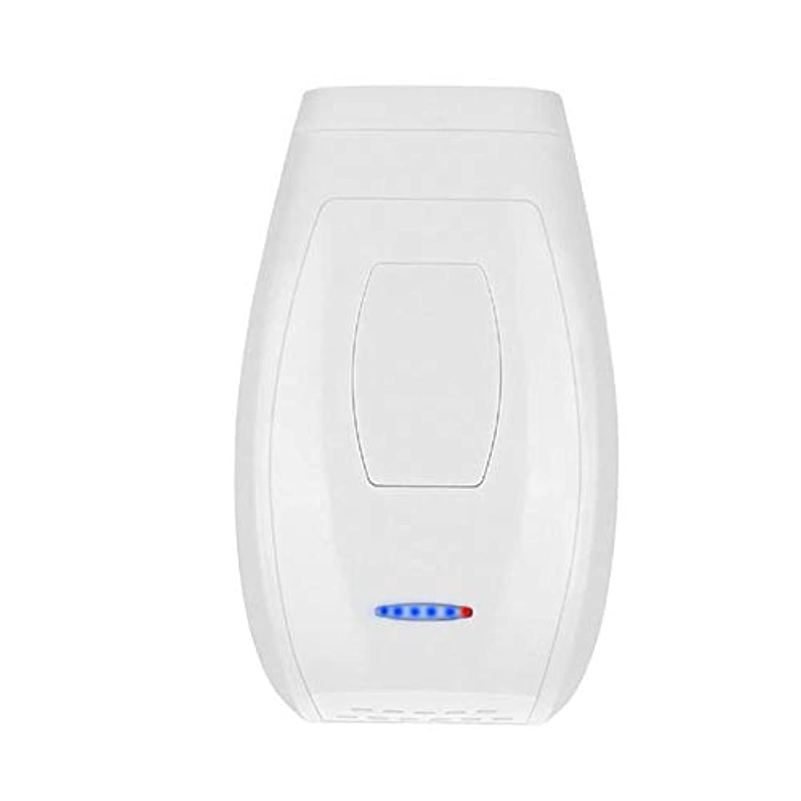 Nuanxin ホワイト、クォーツチューブ、肌に害がない、携帯用痛みのないパーマネントヘアリムーバー、5スピード調整、サイズ13.4 X 8 X 4.5 Cm F30
