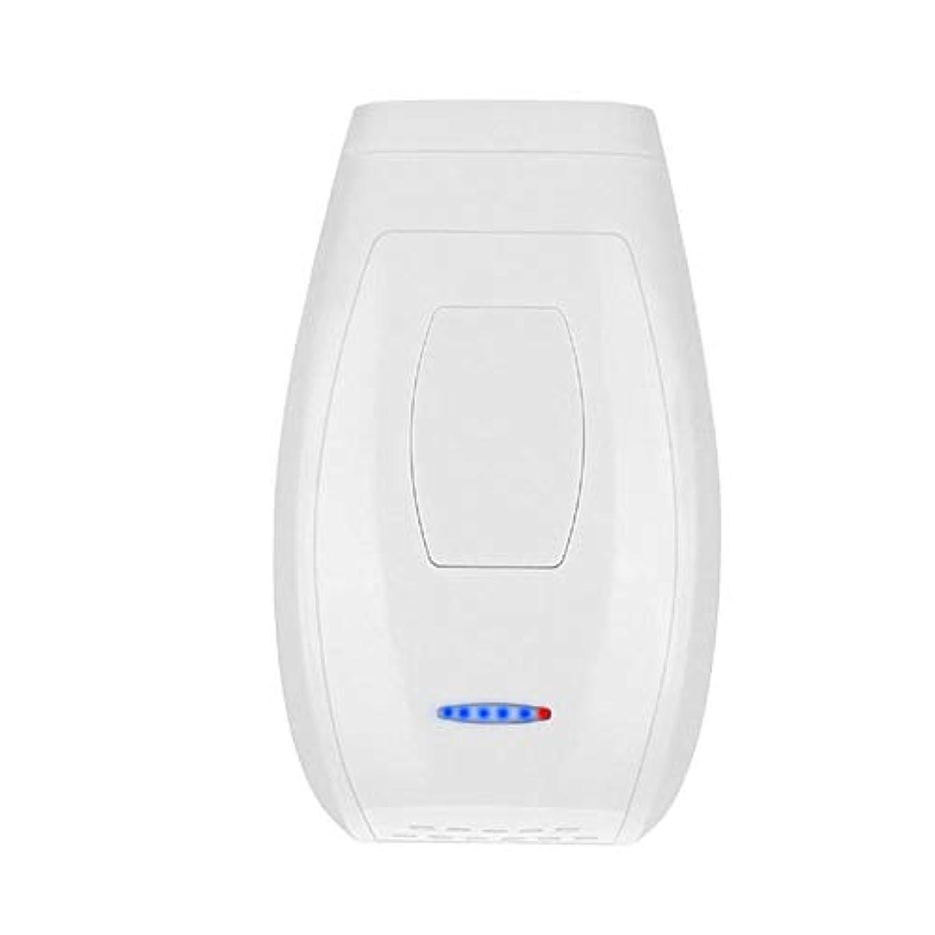 なぜタービン微視的Iku夫 ホワイト、クォーツチューブ、肌に害がない、携帯用痛みのないパーマネントヘアリムーバー、5スピード調整、サイズ13.4 X 8 X 4.5 Cm