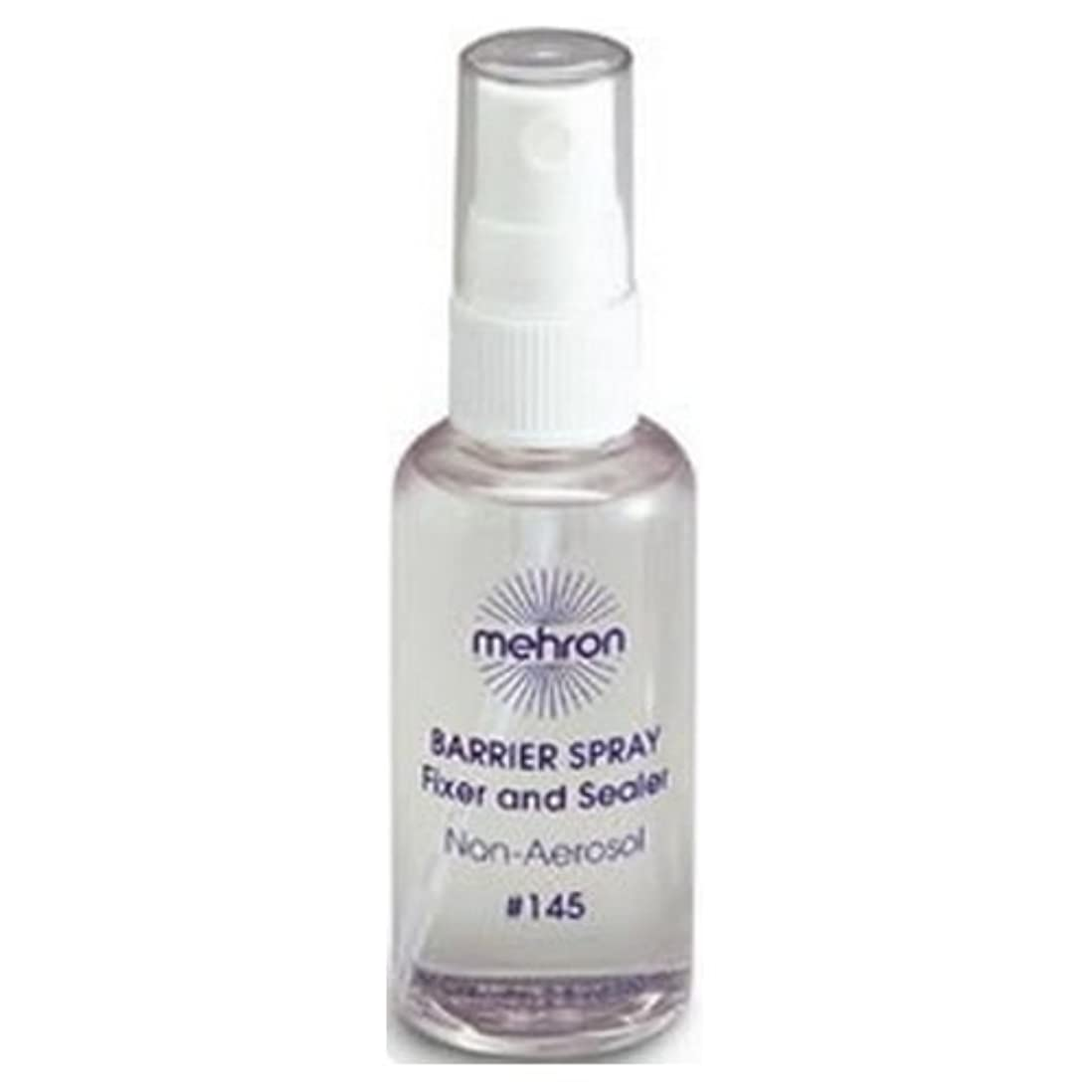エンドテーブルカビアコード(3 Pack) mehron Barrier Spray Fixer and Sealer - Clear (並行輸入品)
