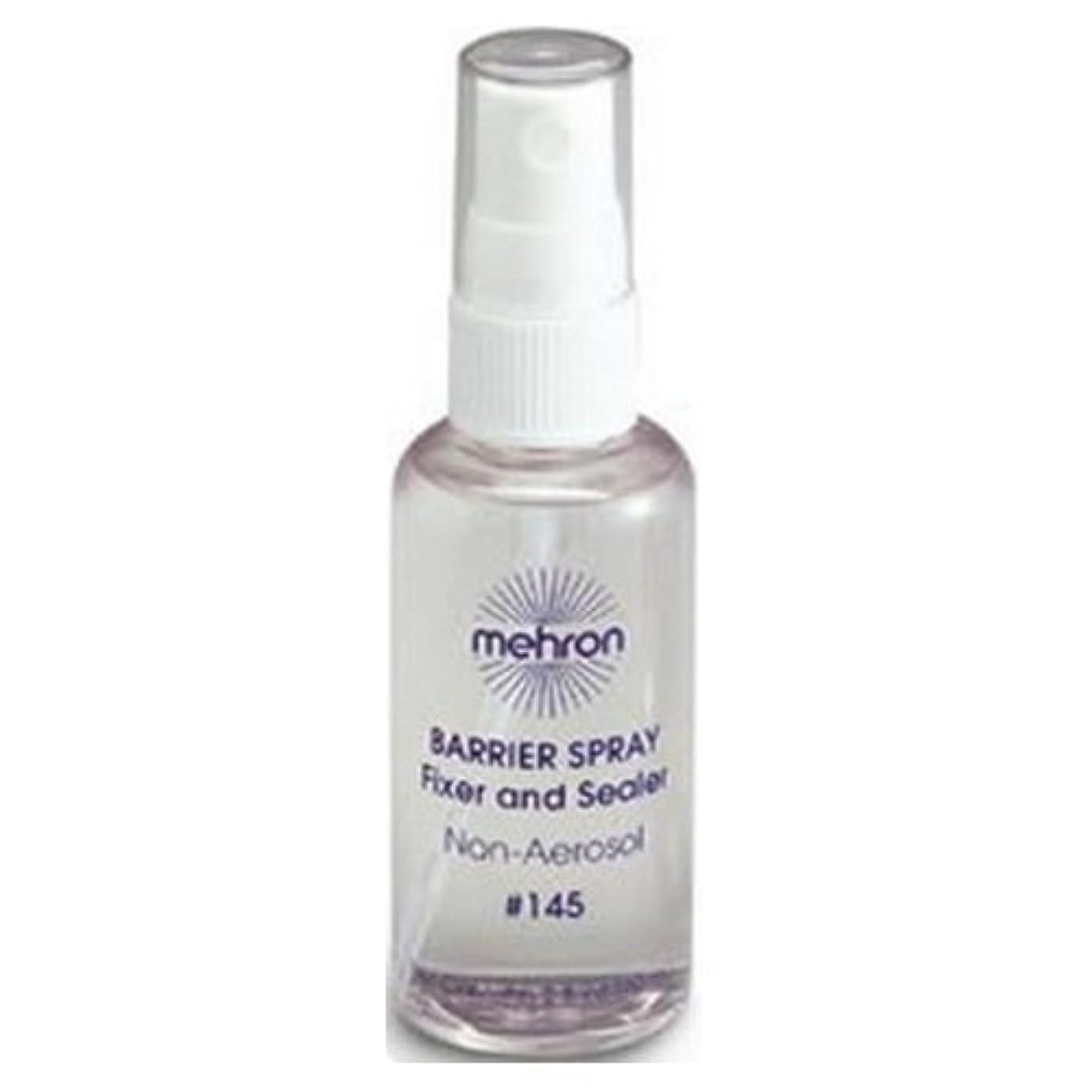 カウントアップマラソン生きている(3 Pack) mehron Barrier Spray Fixer and Sealer - Clear (並行輸入品)