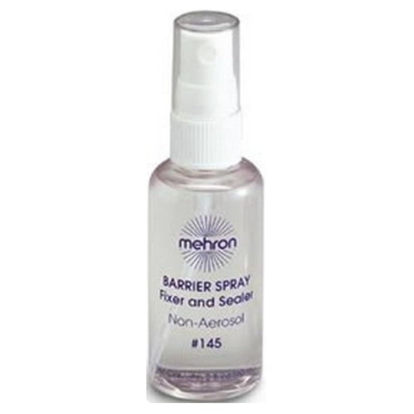早める人口ホールド(3 Pack) mehron Barrier Spray Fixer and Sealer - Clear (並行輸入品)