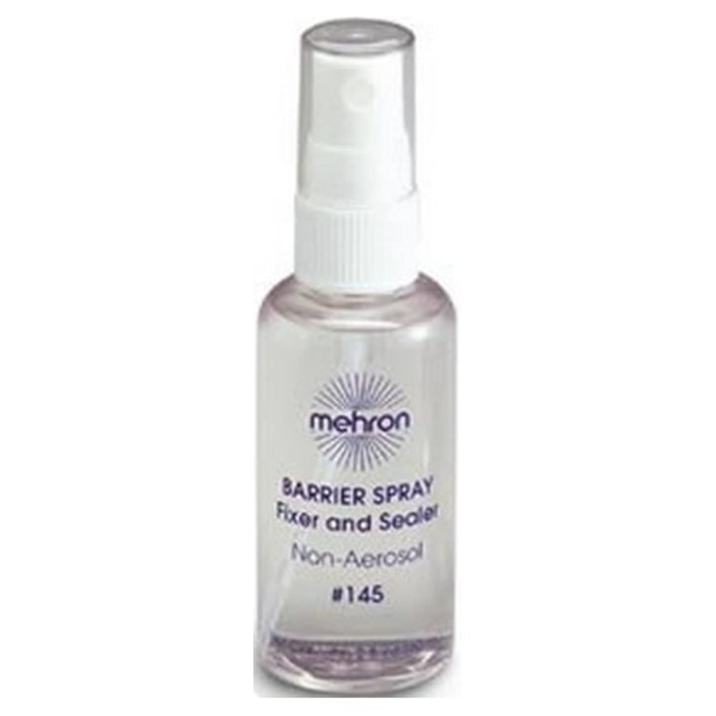 浸透する影響するジョイント(3 Pack) mehron Barrier Spray Fixer and Sealer - Clear (並行輸入品)