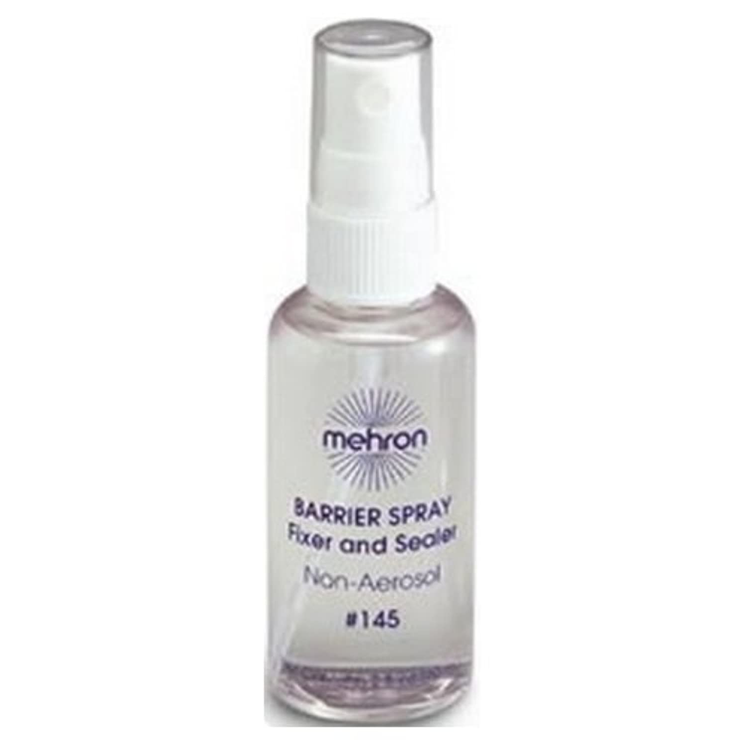 (3 Pack) mehron Barrier Spray Fixer and Sealer - Clear (並行輸入品)