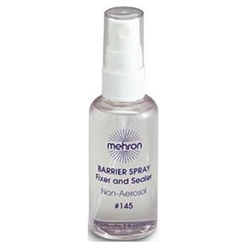 海洋の農業欠点(3 Pack) mehron Barrier Spray Fixer and Sealer - Clear (並行輸入品)
