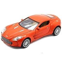 1:32 子供のおもちゃアストンマーティンの 77 金属おもちゃの車子供のためのプルバック車ミニチュアギフト子供