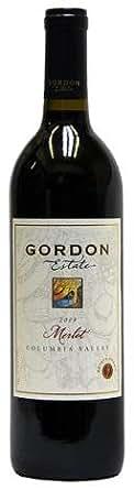 ゴードン・エステート メルロ エステート【GORDON ESTATE Merlot】【アメリカ・ワシントン州産・赤ワイン・辛口・フルボディ・750ml】